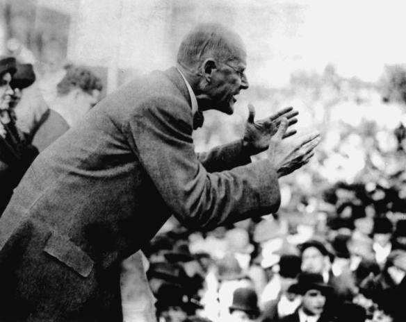 Eugene Debs Speaking